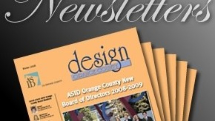 ASID OC Summer 2014 Newsletter