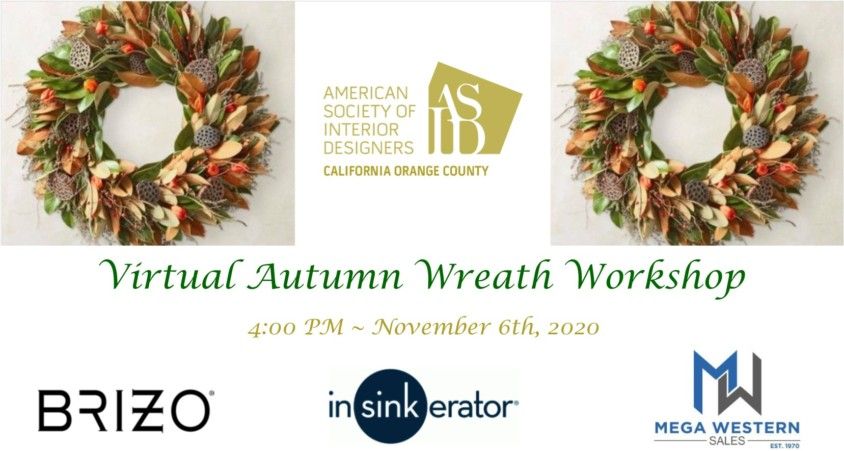 jOIN US FOR A VIRTUAL WREATH WORKSHOP