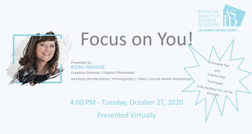Focus on You with Roni Ramos